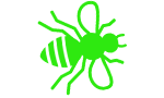 green bee icon